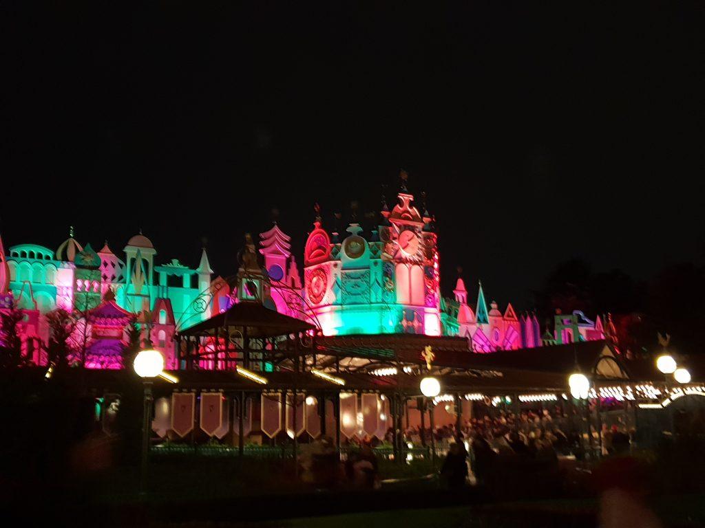 Le monde magique du parc Disney
