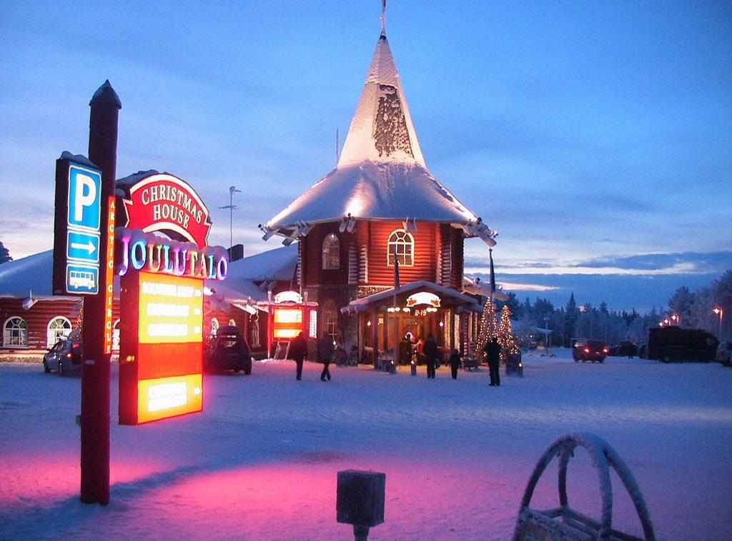 Bien-aimé Le pays du père noël , la Laponie - Les petits voyages HA16