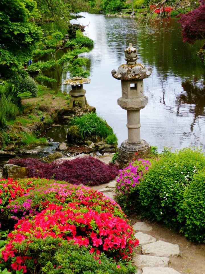 Un jardin japonais maul vrier les petits voyages for Jardin japonais cholet