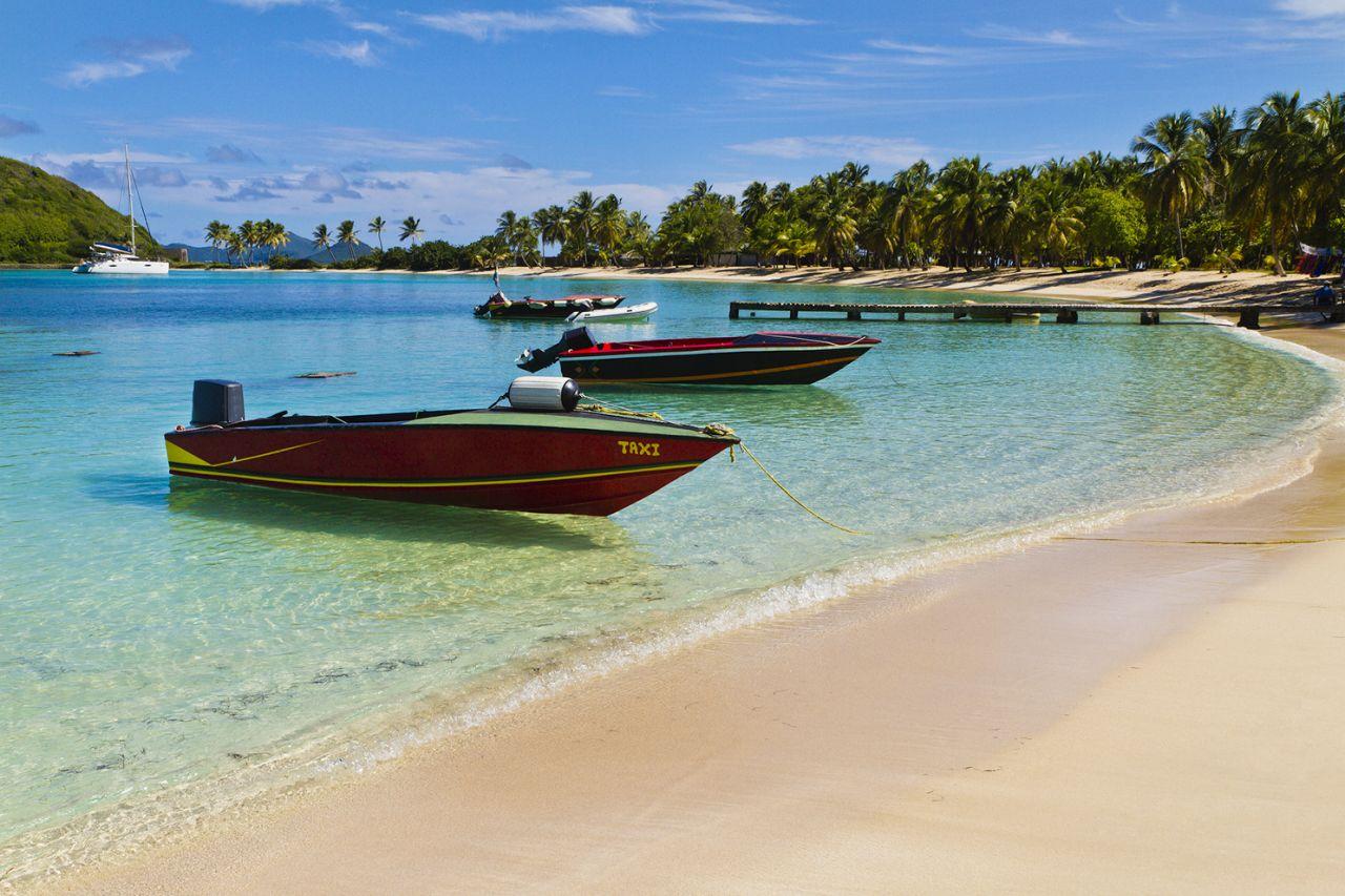 les îles grenadine