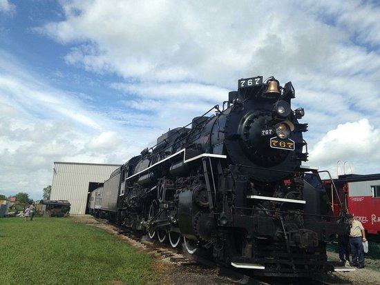 la locomotive à vapeur de Fort Wayne