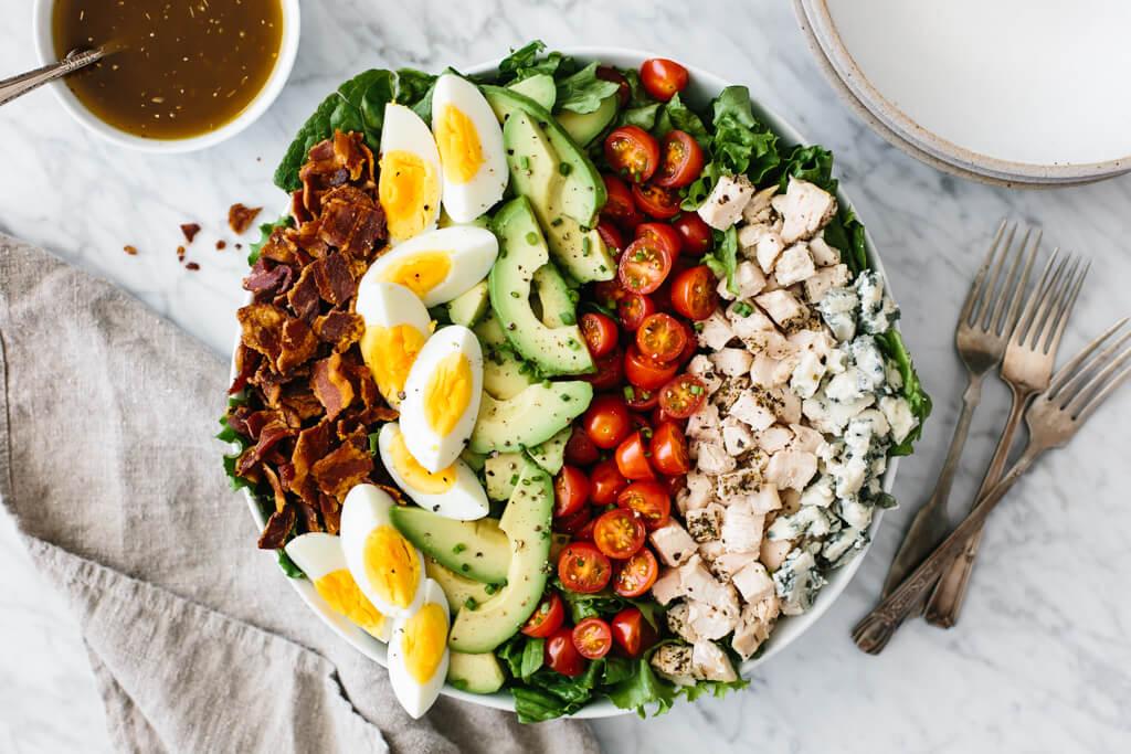 qu'est ce qu'on mange aux usa salade