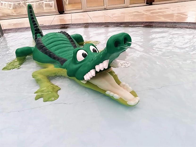 le crocodile du camping le ranolien