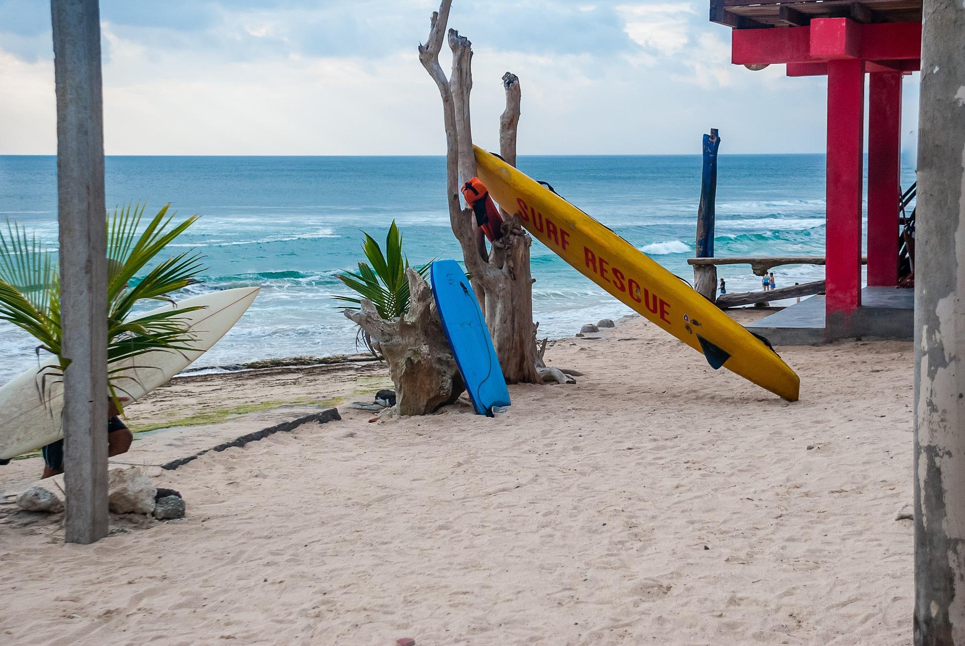 Bali l'île des dieux surf