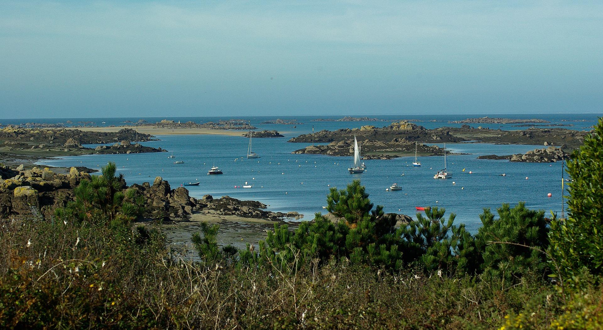 les iles chausey détour en Normandie
