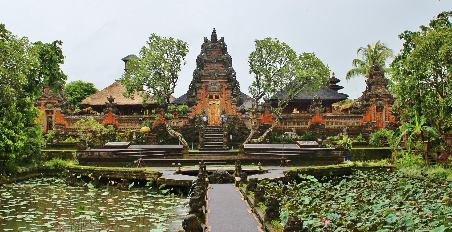 bali l'île des dieux temple